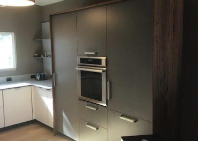 Kitchen with Hidden Appliances