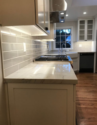 countertops and kitchen backsplash