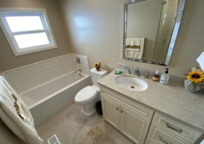 Hallway Full Bathroom Remodel