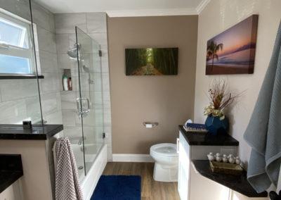 End of Hall Full Bathroom Remodel