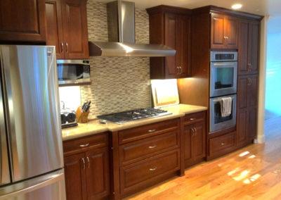 Dark Cabinet Kitchen Remodel